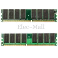 2GB 2x 1GB DDR-266 -2100 Non-ECC DIMM 184-Pin Memory RAM Chipset Desktop   !! !!