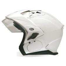 Bell MAG-9 Sena Solid Motorcycle Flip Up Modular Helmet Pearl White XLarge