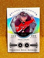2016-17 PAVEL ZACHA Upper Deck Black Double Diamond Relic Rookies /99 Rookie