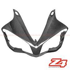 2007 2008 Yamaha R1 Upper Front Nose Headlight Cover Fairing Cowl Carbon Fiber