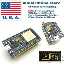 ESP32 2.4GHz WiFi+Bluetooth CP1202 Wireless Dual Core Mode Arduino Programmable