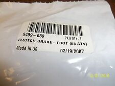 0409-089 Arctic Cat Brake Switch-Foot NEW OEM NEW OLD STOCK