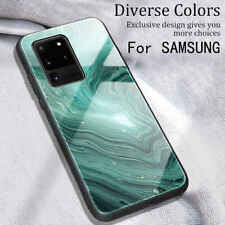 For Samsung Galaxy S20 S10 S9 Plus Marble Slim Fit shockproof Hard Case Cover