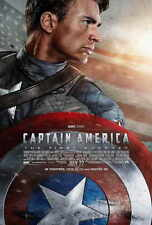 CAPTAIN AMERICA: THE FIRST AVENGER Movie POSTER 27x40 B Chris Evans Hugo Weaving