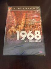 1968 With Tom Brokaw (history Channel) DVD Brand New