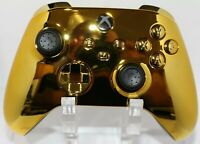 Microsoft Xbox One Series X/S Modded Controller-Chrome Gold Special Edition