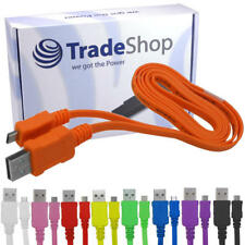 USB Kabel Ladekabel Datenkabel Flachkabel für ZTE Grand X2 In