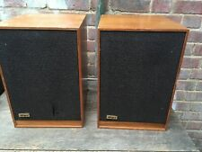 Vintage Tangent Acoustics RS-2 Bookcase Speakers KEF T-27 Tweeter Audax 8 Driver