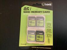 Hme Products Hme Sd Memory Card 16gb 4PK HME16GB2PK