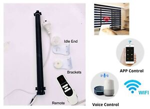 Zigbee Smart Blind Motor 36-38MM Tube Electric Blinds Alexa Google Home APP