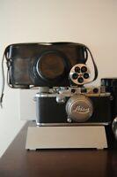 Leica IIIa 35mm Rangefinder D.R.P Ernst Leitz Wetzlar S5cmummar  F2 Leica case