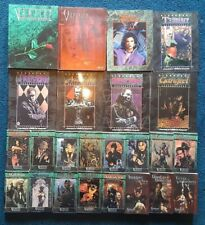 Lot of 25 Vampire The Masquerade RPG Books Core Book Sourcebook Clan Novel +