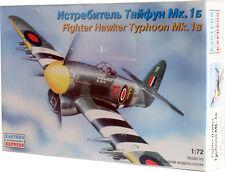 EST-72279 Eastern Express 1/72 Hawker Typhoon Mk.1b fighter model kit