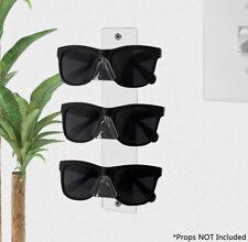 3 Tier Sunglasses Eyeglasses Display Rack Acrylic Clear Organizer