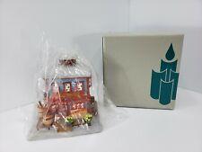 Retired PartyLite General Store Tealight Holder w/ Box Party 00004000 Lite Village