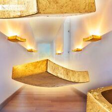 Keramik Wohn Schlaf Raum Leuchten Flur Dielen Beleuchtung Wand Lampen goldfarben