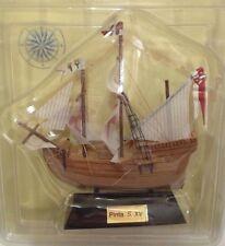 Carabela Pinta S. XV Barco velero madera 13-15 cms Agostini sailing boat