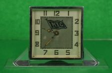 MTG Yachting Art Deco Alarm Swivel Clock