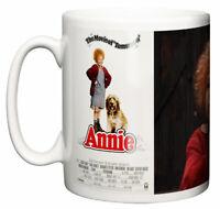 Movie Musical Mug, Classic Annie 1982 Albert Finney Aileen Quinn Gift