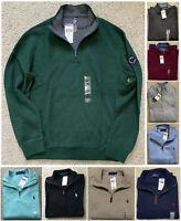 NWT Men's Polo Ralph Lauren SWEATER Quarter Half Zip Sweatshirt S M L XL XXL