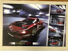 HONDA NSX,GT, PHOTO BY EASTON CHANG,AUTHENTIC 1990'S  POSTER