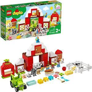 LEGO DUPLO Barn, Tractor & Farm Animal Care 10952 Building Kit 97pcs Mar.1,21