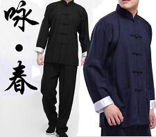 Comile Cinese Kung Fu Ali Chun Abiti Marziali Tai Chi Uniforme Bruce Lee Costume