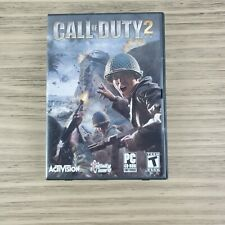 Call of Duty 2 (2005) - PC CD-ROM - Complete Game 6 Disc Set Case & Manual