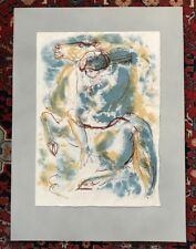Hans Erni Man on Horse lithograph Excellent Quality Paper