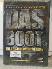Das Boot - Original Uncut Version (Dvd 2004) Rare 80'S War Tv Mini Series New