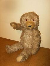 Ancien ours en peluche articulé / vintage jointed teddy bear (Hauteur +/- 58cm)