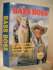 BASS BOSS RAY SCOTT B.A.S.S. Founder SIGNED Scott & Boyle 1999 HC/DJ Fishing