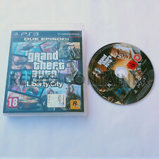 Vintage Game SONY PLAYSTATION 3 PS3 - GTA Episodes from Liberty City - Italian