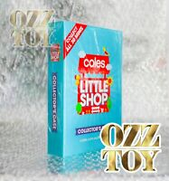 COLES LITTLE SHOP 1 COLLECTOR FOLDER ONLY COLLECTABLE CASE OZZ TOY
