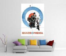 Quadrophenia The Who Lambretta Vespa Gigante Pared Arte Foto impresión Cartel