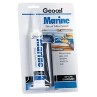 Geocel/Dow Corning Marine Silicone Sealant 78g Tube Clear - Handy Reuseable Tube