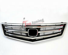 JDM OEM Sport Model Chrome Front Bumper Grille Radiator for Acura TSX 2009 2010