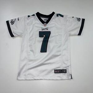Nike Michael Vick Philadelphia Eagles Jersey Size Youth M White NFL Football BOY