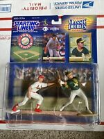 1999 Starting Lineup Classic Doubles Mark McGwire Majors To Minors Cardinals A's