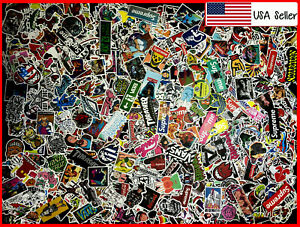 400 New Random Skateboard Stickers bomb Laptop Luggage Decals Dope Sticker Lot