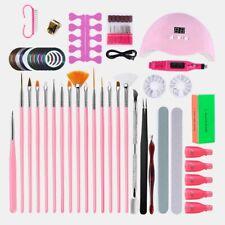 Gel Nail Polish Kit S Glitter Nail Electric Drill UV Dryer Lamp Manicure Set Led