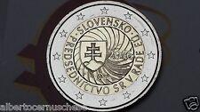 2 euro 2016 SLOVACCHIA Presidenza EU Slovaquie Slovakia Slovensko Slowakei