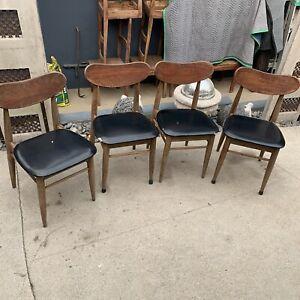 Mid Century Modern Chairs Set Of 4