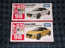 NEW TOMICA 98 HONDA S660 1st Limited YELLOW & WHITE version SET JAPAN BEAT F/S