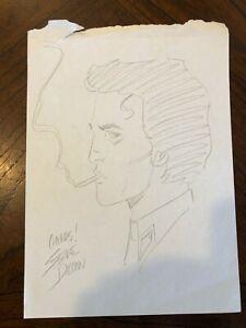 STEVE DILLON original art PREACHER drawing