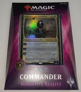 Magic the Gathering Commander 2018 SUBJECTIVE REALITY Deck New Sealed