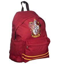 Harry Potter Backpack - Gryffindor Crest Rucksack School Bag