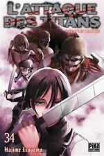 L'Attaque Des Titans Tome 34 Edition Collector - Neuf - Précommande