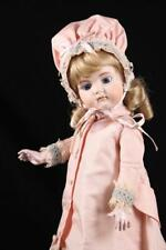 """14"""" French Jumeau Bebe Antique Repro Doll Closed Mouth Bev Schmelling Compo Body"""