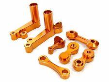 RDLogics Alum Steering Bell Crank 4 HPI Baja 5B Orange
